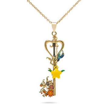 Kingdom Hearts Destiny's Embrace Keyblade Necklace