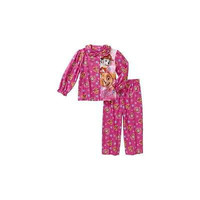 Baby Toddler Girl Button Down Pajama Sleepwear Set, 4T, Pink Paw Patrol