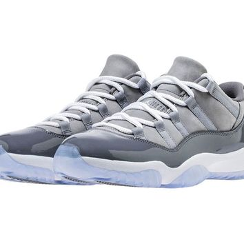"Air Jordan Retro 11 Low ""Cool Grey"""