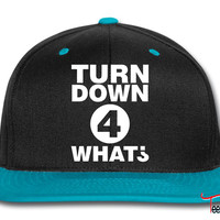 Turn down for what Snapback