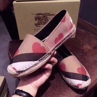 shosouvenir : Burberry :Canvas shoes