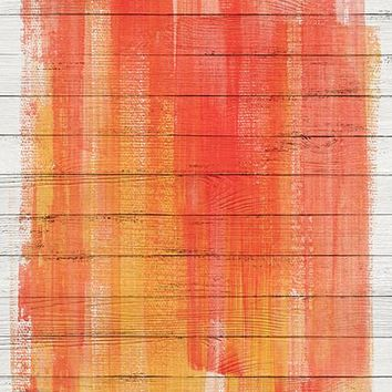 Fire Paint Printed Photo Backdrop / 472