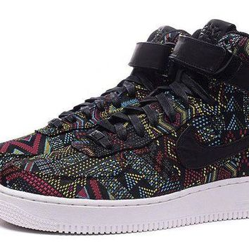 DCCKBE6 Nike Air Force 1 Bhm Af1 836227-001 Black For Women Men Running Sport Casual Shoes Sneakers