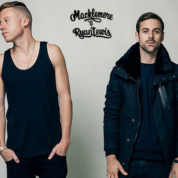 Macklemore and Ryan Lewis Poster 11x17