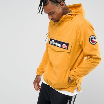 Ellesse Overhead Jacket In Yellow at asos.com