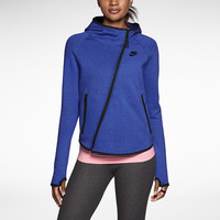 Nike Tech Butterfly Women's Hoodie - Light Game Royal Heather