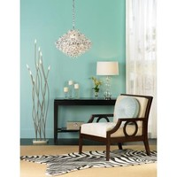 Possini Vevina Wavy Tendril Floor Lamp  - Opulentitems.com