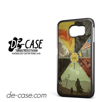 Fallout 4 Collage Arts DEAL-4076 Samsung Phonecase Cover For Samsung Galaxy S6 / S6 Edge / S6 Edge Plus