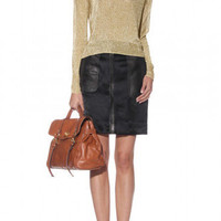 Shimmery gold w/ structured skirt