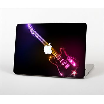 The Neon Light Guitar Skin Set for the Apple MacBook Pro 13""