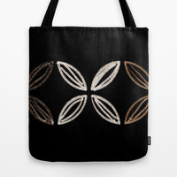 Mid Century Flower (horizontal) Tote Bag by Jensen Merrell Designs