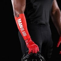 Man of God Red Forearm Compression Sleeve