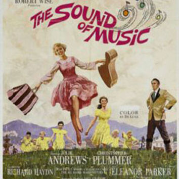 The Sound Of Music Vintage Movie Poster