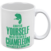 Always Be Yourself Chameleon White All Over Coffee Mug