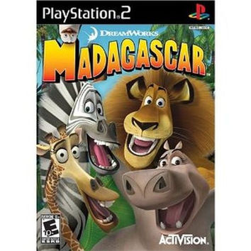 Madagascar (Sony PlayStation 2, 2005) Complete