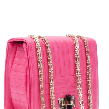 Paola Cross body Handbag (Fuchsia)