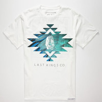 Last Kings Cap Mens T-Shirt White  In Sizes
