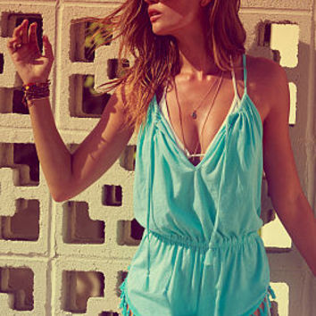 Tassel Cover-up Romper - Everyday Tees - Victoria's Secret
