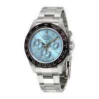 Rolex Oyster Perpetual Cosmograph Daytona Ice Blue Dial Automatic Mens Chronograph Watch 116506