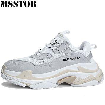 MSSTOR 2018 Women Men Sneakers Breathable Women Sport Shoes Woman Brand Outdoor Athletic Walking Mens Run Running Shoes For Man