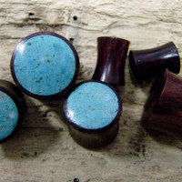Real gauge,Natural sono wood ,13mm,16mm.19mm,22mm,25mmhand made,tribal style,organic,plug