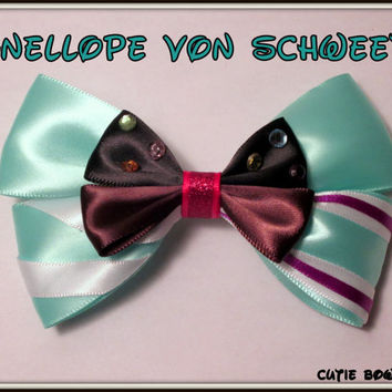 Vanellope Von Schweetz Hair Bow Wreck It Ralph by bulldogsenior08