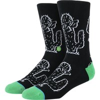 Stance Summer Desert Dayzed Athletic Crew Sock - Men's Black, L/XL