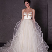 Wedding dress 2 in 1, ball gown, Linda