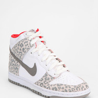 Nike Animal Print Dunk High-Top Sneaker