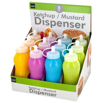 Ketchup & Mustard Dispenser Countertop Display Case Pack 24