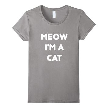 Meow Cat Halloween Costume T-Shirt