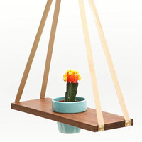 Get Out! A-Frame Plant Hanger | Design Milk