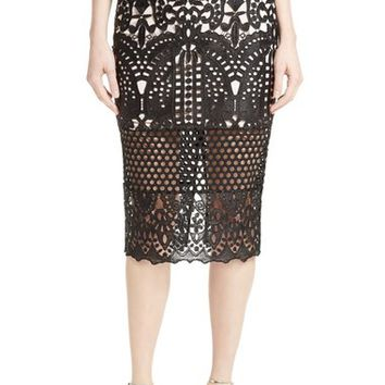 Ted Baker London Neoma Lace Pencil Skirt | Nordstrom