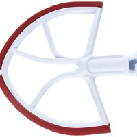 New Metro Design Beater Blade for KitchenAid 6-Quart Bowl Lift Models, Red Blades
