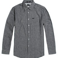 Matix Lyons Long Sleeve Woven Shirt - Mens Shirts - Gray