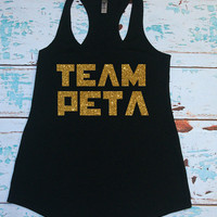 Team Peta. Tank Top Shirt. Hunger Games. Christmas Gift. Catching Fire. Hunger Games tank. Hunger Games shirt. Team Gale. Hunger Games Shirt