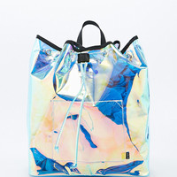 UNIF Iridescent Vapor Backpack - Urban Outfitters