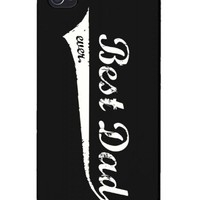 Best Dad Ever Swash Style Phone Case for iPhone 4, iPhone 5, iPhone 5C, Galaxy S3, Galaxy S4, Galaxy S5 - Father's Day Gift