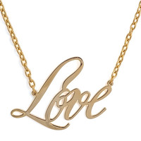 L Is For Love Necklace
