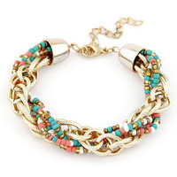 Beaded Multilayer Bracelet