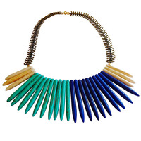 Underground Cave Blue Ombre Necklace