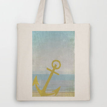 Let's Sail Away Tote Bag by Ally Coxon | Society6