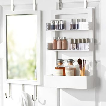 CAMPAIGN OVER THE DOOR BATH STORAGE