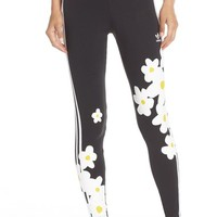 adidas Originals 'Kauwela' Print 3-Stripes Leggings | Nordstrom