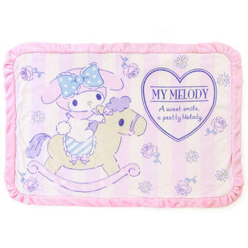 My melody boa blanket rug Hana ☆ Sanrio warm interior series ★ black cat DM service impossibility