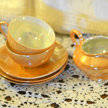 Lusterware Tea Time Set