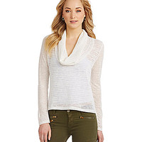 Sanctuary Clothing Holiday in the Sun Cowlneck Sweater
