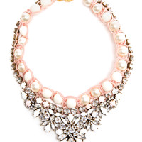 SHOUROUK   Embellished Pearl Necklace   Browns fashion & designer clothes & clothing