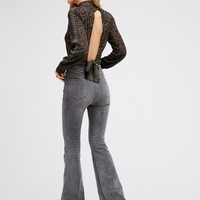 Free People Cyndi High Rise Flare