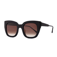 Thierry Lasry Swingy Square Sunglasses, Black